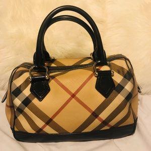 Burberry nova bowling bag